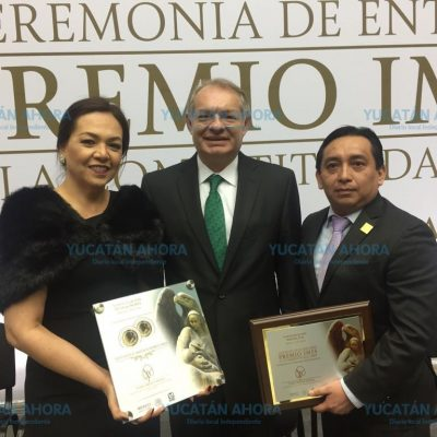 Entregan reconocimiento nacional al IMSS Yucatán por competitividad