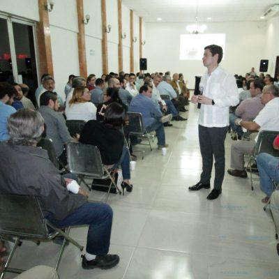Insisten a empresarios locales a tomar la oportunidad de la Zona Económica Especial