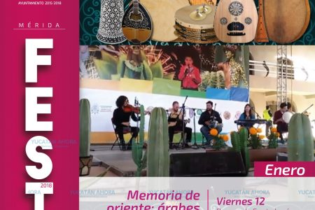 Evocarán la cultura árabe milenaria en Mérida Fest
