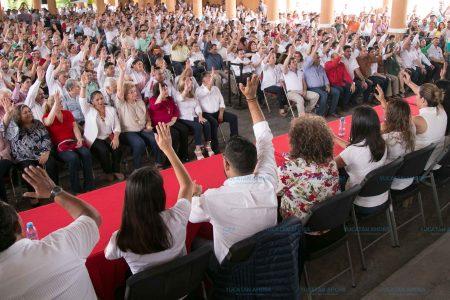 Elige el PRI a sus delegados para asambleas nacionales y estatales