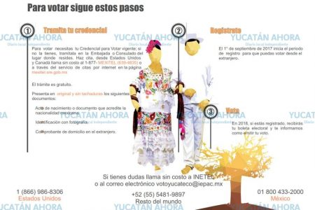Van a California a motivar a migrantes yucatecos a votar