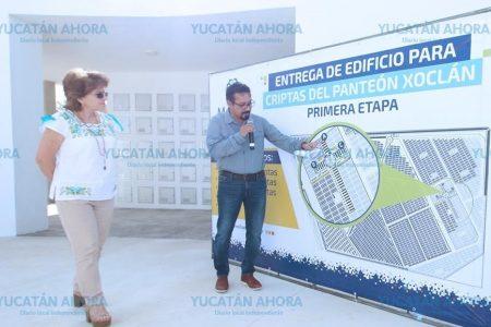 Con renta de criptas pretenden bajar la saturación en el Cementerio Xoclán