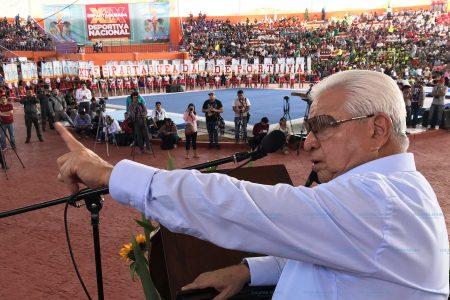 Exhortan a integrantes de Antorcha Campesina a votar por el candidato menos malo