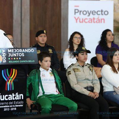Vienen mejores cosas para Yucatán en 2018: Rolando Zapata