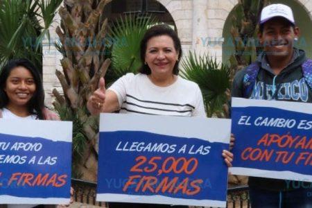 Sofía Castro se retira de la contienda; califica de amañado el proceso
