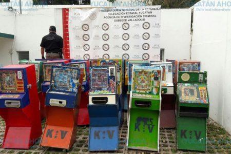 Ludópatas de Valladolid pierden 20 máquinas tragamonedas