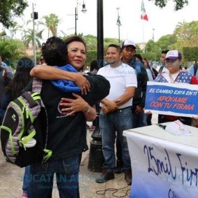 A 5 mil firmas de conseguir Sofía Castro su candidatura ciudadana