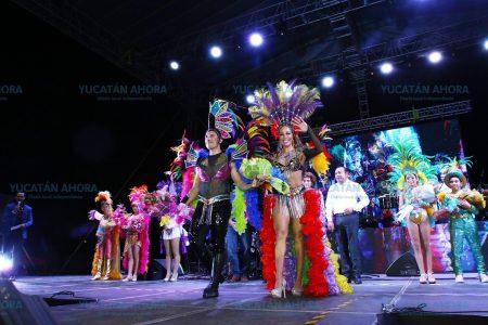 El Carnaval meridano, espacio de convivencia y diversión familiar