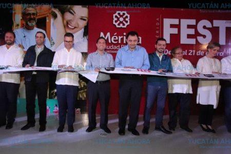 Mérida recibe por segunda ocasión el Festival Internacional de las Luces: Filux