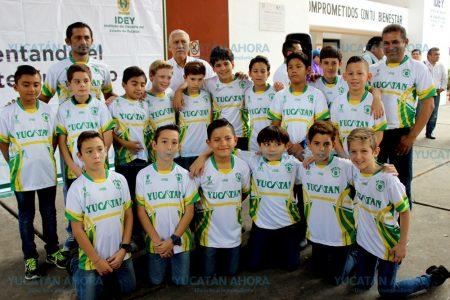 Selección yucateca categoría 'Niños Héroes', a torneo nacional en Toluca
