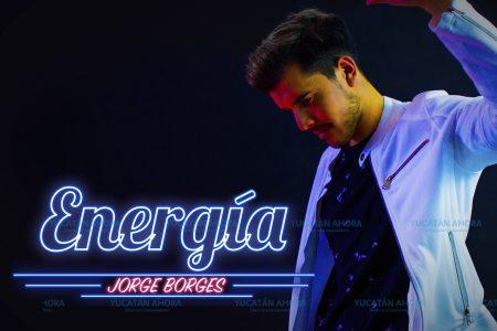 El cantante meridano Jorge Borges lanza 'Energía'
