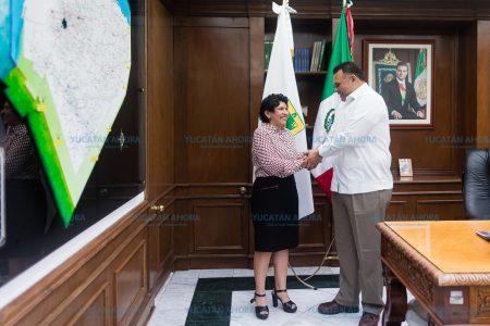 Martha Góngora Sánchez, nueva secretaria General de Gobierno