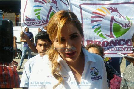 A paso 'Bronco' viene por firmas a Yucatán