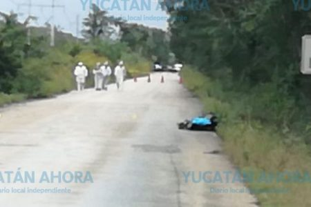 Hallan cadáver de mujer en montes de Maxcanú