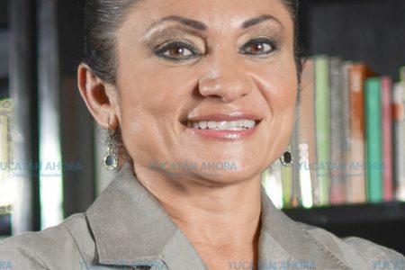 María del Carmen Ordaz Martínez, precandidata del PRI por Progreso