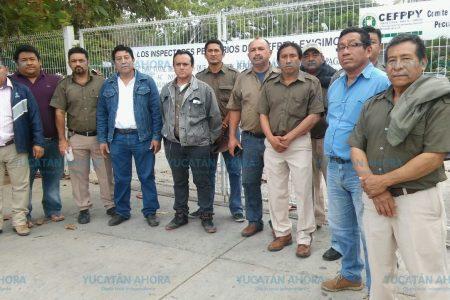 Pagan aguinaldos y sueldos a trabajadores de casetas fitosanitarias y asunto arreglado