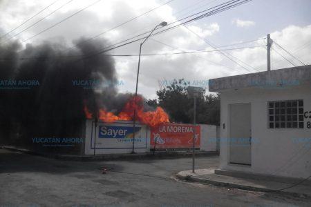 Mérida, cercada por incendios de maleza reseca
