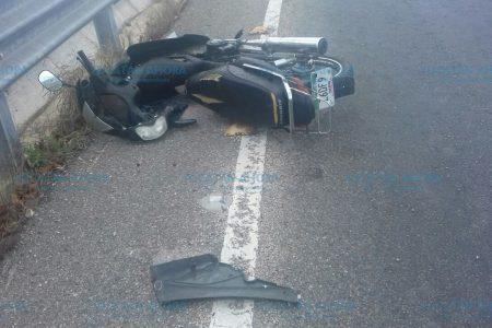 Muere motociclista en el puente de Yucalpetén