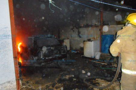 En medio de la heladez, el fuego hace de las suyas en Mérida