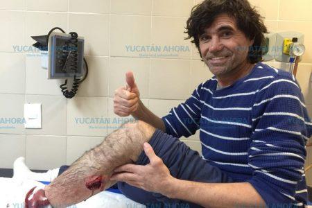Se lesiona 'El Glison' en corrida de la feria de Peto