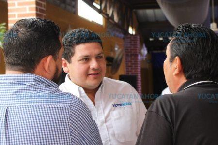 El PAN en Mérida, cercano a la gente: Víctor Merari Sánchez