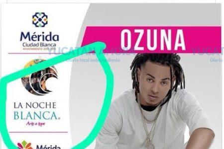 Desmienten que Ozuna se vaya a presentar en el Mérida Fest