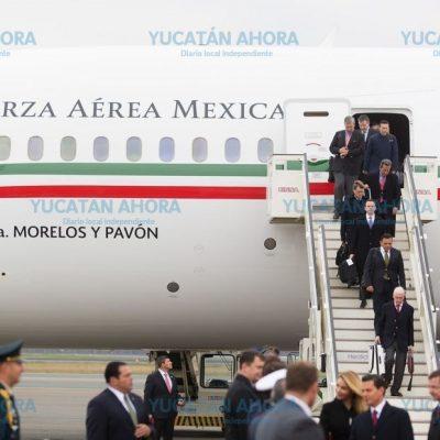 El gobernador de Yucatán acompaña a Peña Nieto en gira internacional