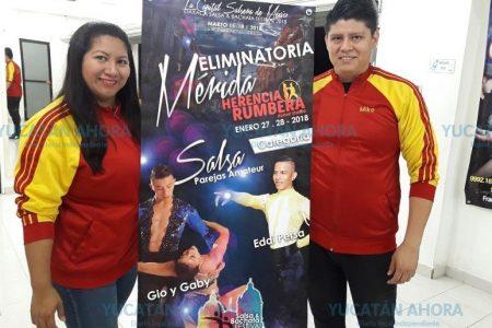 Bailan a ritmo de salsa y bachata rumbo a competencia nacional