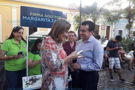 A los yucatecos no les alcanza el sueldo: Margarita Zavala
