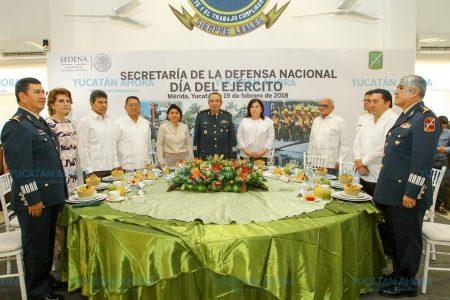 Destacan labor de coordinación entre el Ayuntamiento de Mérida y la Sedena