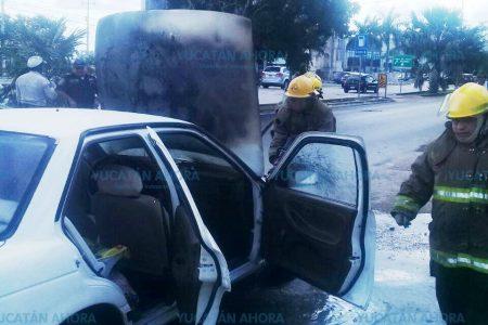 Se le quema su Tsuru en la avenida República de Corea