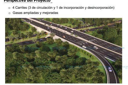Disposiciones viales temporales en el puente Mérida -Progreso
