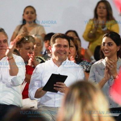 Yucatán seguirá creciendo en economía, turismo, educación y seguridad: Sahuí