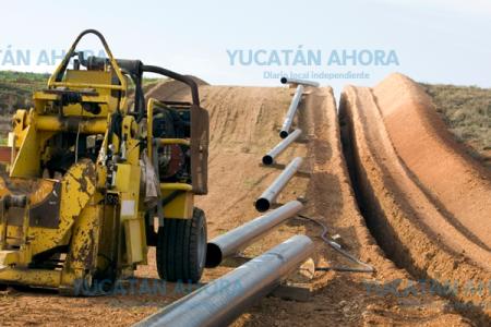 A mediados de 2019 empezará a llegar gas natural a Yucatán por medio de un gasoducto