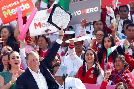 Priistas yucatecos van a Ciudad de México a ratificar candidatura de José Antonio Meade