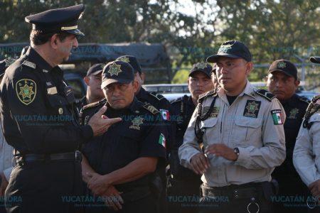 Pide Saidén a policías mantener su compromiso para aumentar el índice de seguridad