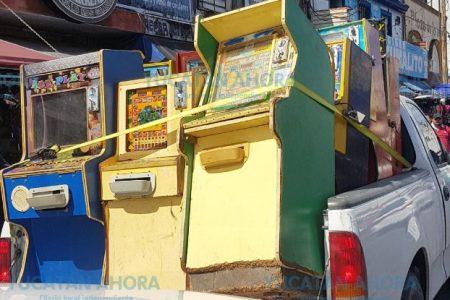 Uno más de los decomisos de minicasinos en Mérida