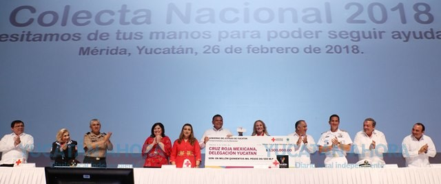 La Cruz Roja va por 3.8 millones de pesos en su colecta anual Yucatán