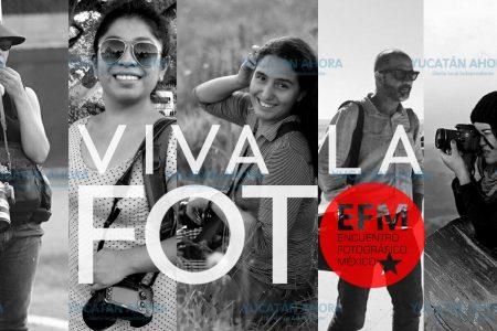 Fotógrafos yucatecos captarán sonrisas en preparación de un evento nacional del gremio