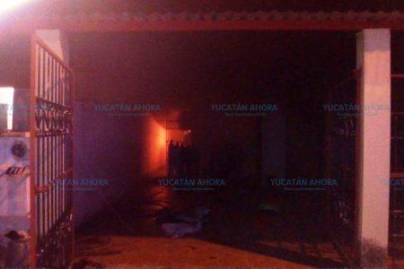 Siniestra llamada: Se le quema la casa con sus hijos adentro