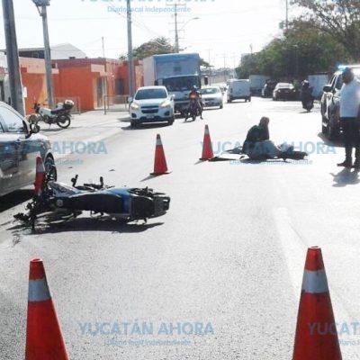 Lesionó a un motociclista por no tener precaución al dar una vuelta en 'U'