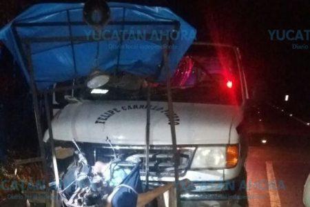 Mata a mototaxista y a su esposa por no cuidar su distancia entre vehículos