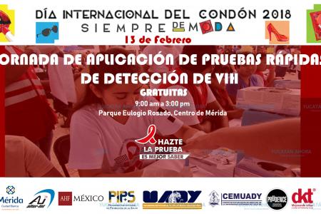 Antes de celebrar San Valentín, festeja el Día del Condón con prueba gratis de VIH