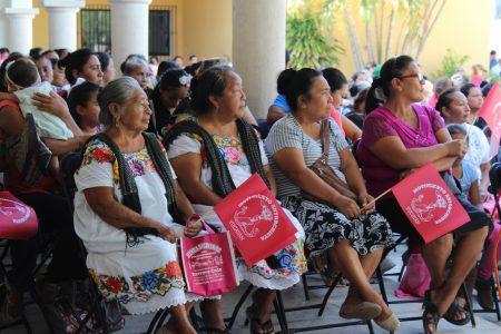 Festejan antorchistas de Izamal su segundo aniversario