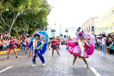 Gran festejo familiar en el Carnaval Infantil