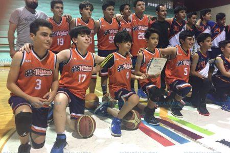 Wildcats se corona campeón en la Liga Premier Infantil y Juvenil de Basquetbol
