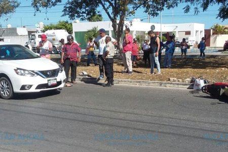 Siguen los accidentes de motocicletas en Ciudad Caucel