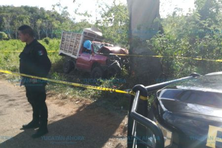 Nueva tragedia en carreteras del sur de Yucatán