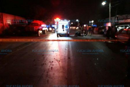 Choca ambulancia que lo llevaba al O'Horán tras propiciar fatal accidente
