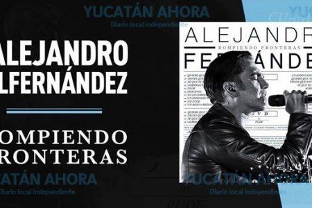Alejandro Fernández llega a Mérida 'Rompiendo Fronteras'